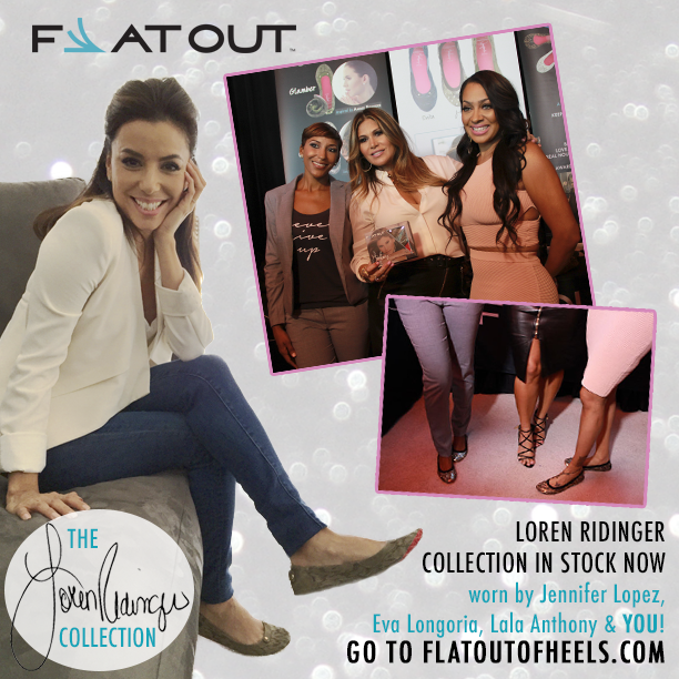 Loren Ridinger Designs Exclusive Collection of Flat Out of Heels
