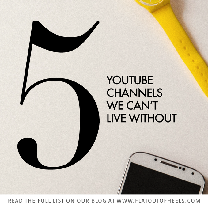 5 YouTube Channels We Can't Live Without