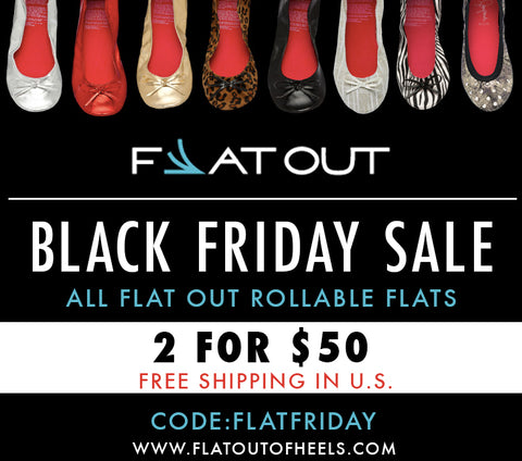 Black Friday is now FLAT FRIDAY!