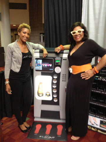 Flat Out of Heels Turns Heads at the Bronner Brothers Hair Show