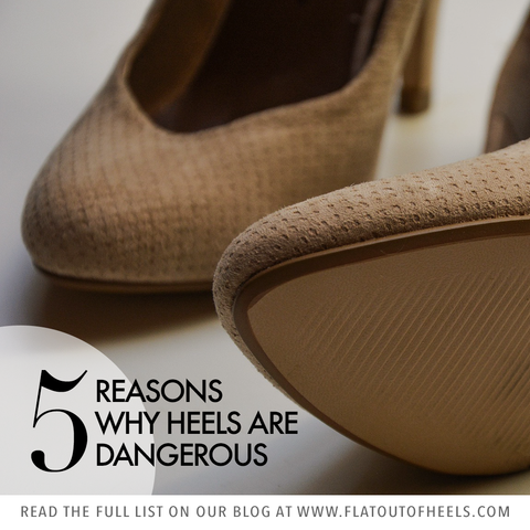 5 reasons why heels are dangerous