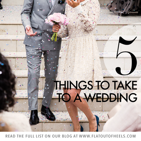 5 things for a wedding