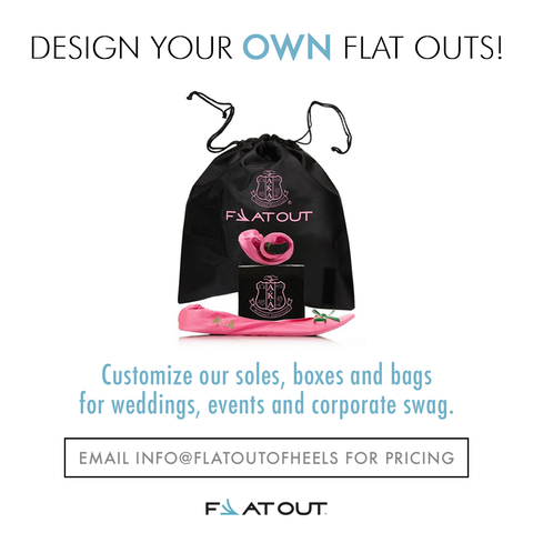 Customized Flat Outs (500 pair minimum order)