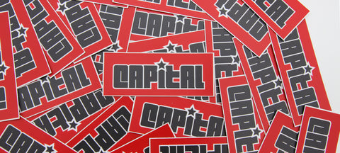 OG Capital Climbing Stickers