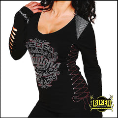 Forgiven Line - Daytona Beach Bike Week Lazer Cut Long Sleeve