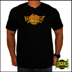 Official 2016 Biketoberfest Pumpkin Design, T-Shirt