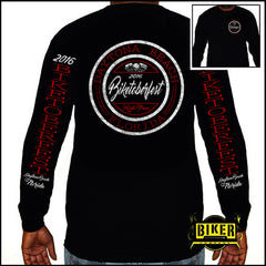 Official 2016 Biketoberfest Classic Seal, Long Sleeve