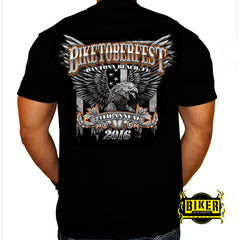Official 2016 Biketoberfest Big Eagle, T-Shirt