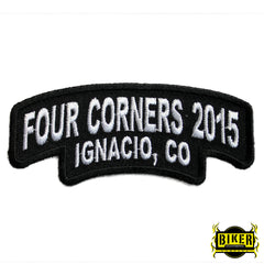 2015 Ignacio Four Corners Black & White Patch-Small
