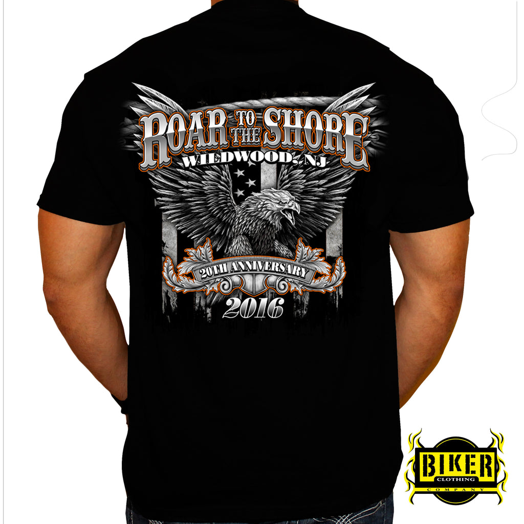 2016 Wild Wood Roar to the Shore Big Eagle T-Shirt