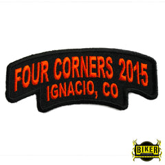2015 Ignacio Four Corners Orange Patch-Small