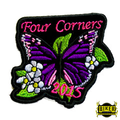 2015 Ignacio Four Corners Purple Butterfly Patch-Small