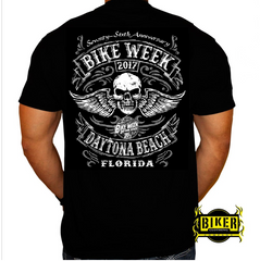 2017 Official Bike Week Winged Skull T-Shirt