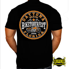 Official 2016 Biketoberfest Stamp, T-Shirt
