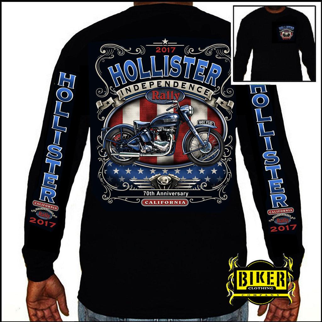 Official 2017 Hollister American Rally Long-sleeve