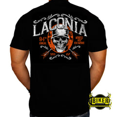 2017 Laconia Arrow Skull T-shirt