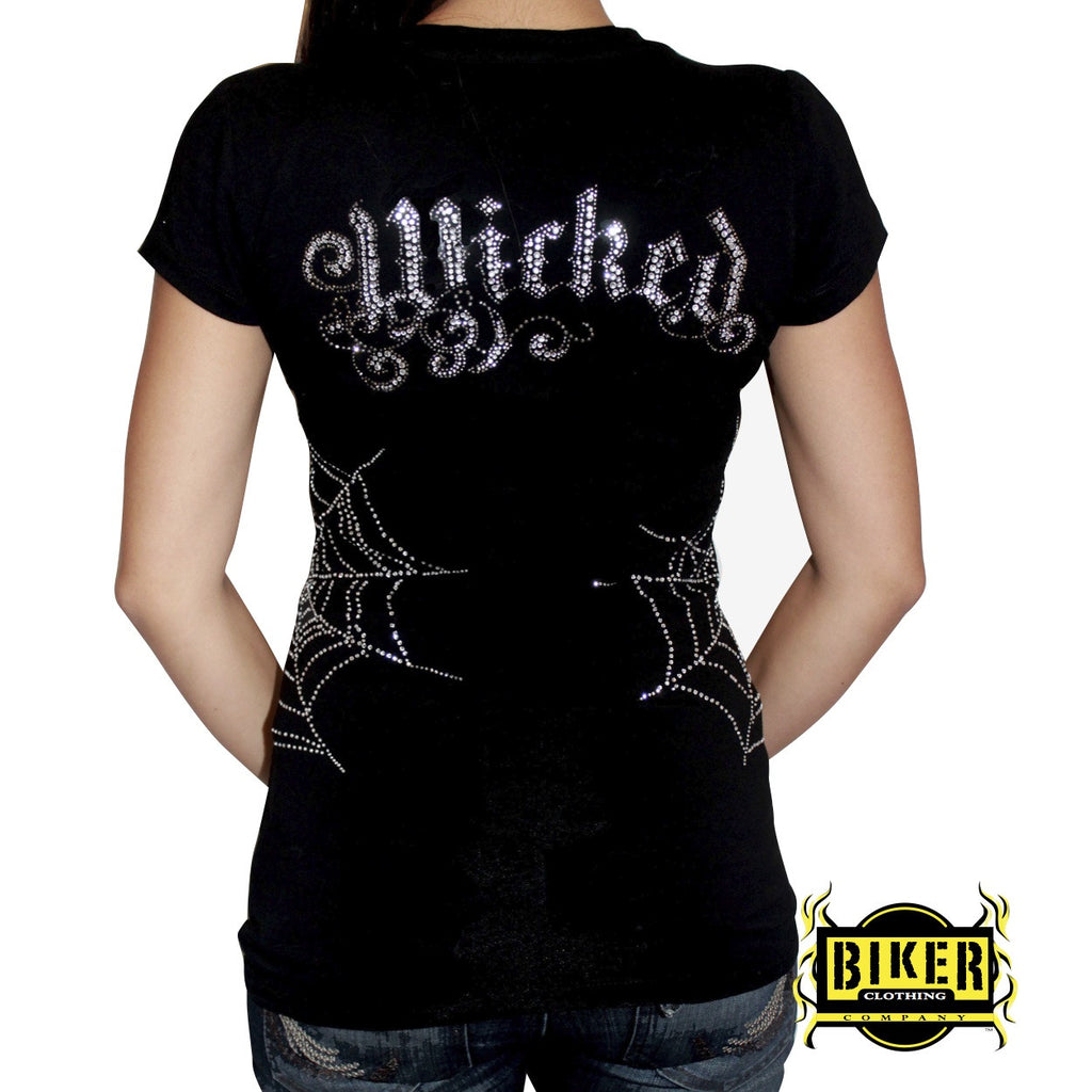 Wicked Web Short Sleeve Top