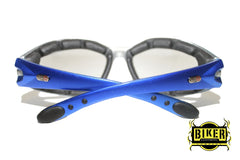Eye Q USA Electric Blue Two-Tone Sunglasses