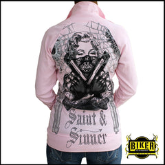 Pink  Marilyn Long Sleeve