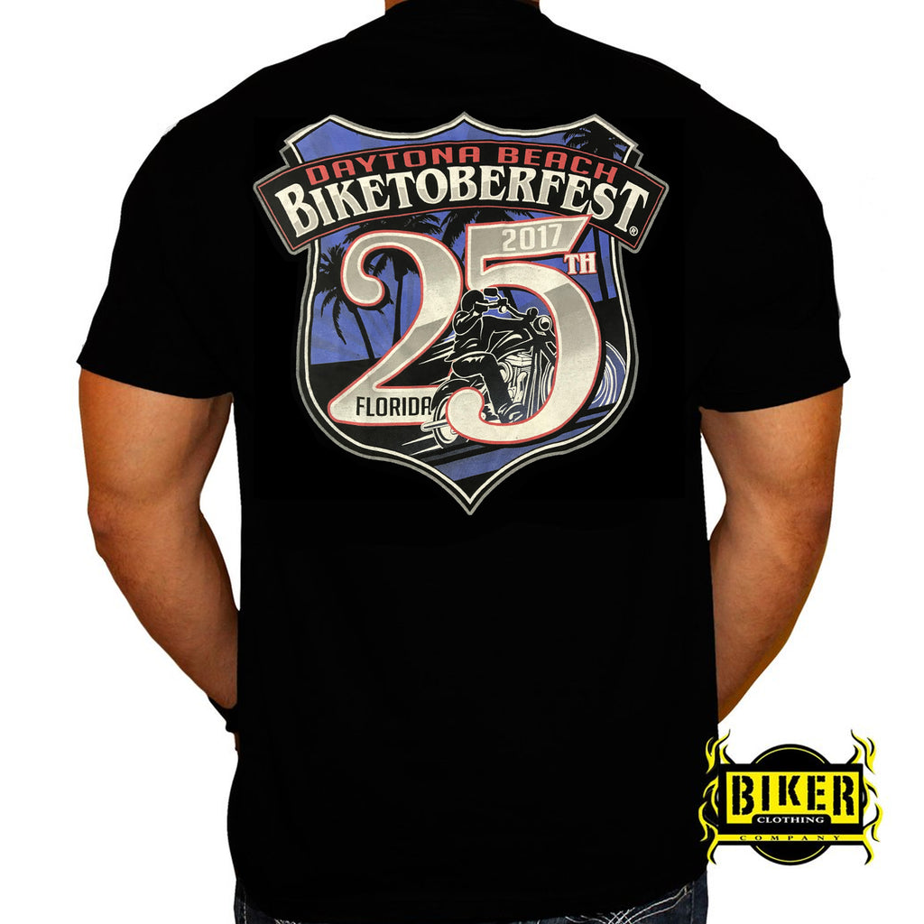 2017 Biketoberfest Badge T-shirt