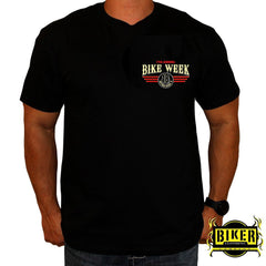 2018 Official Daytona Bike Week Pin Up Girl T-Shirt