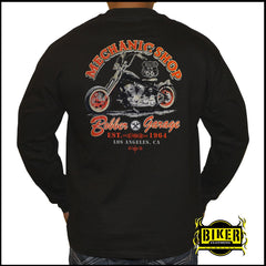 Mechanic Shop Long Sleeve T-Shirt