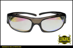 Eye Q USA Transparent Frame Sunglasses