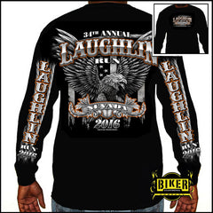 Official 2016 Laughlin River Run Big Eagle Long Sleeve
