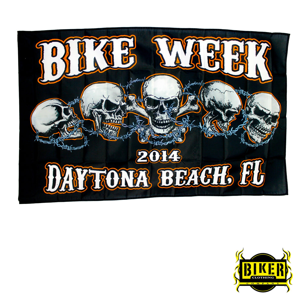 2014 Daytona Beach Bike Week Flag