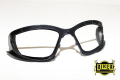 Eye Q USA Black Clear Foam Sunglasses