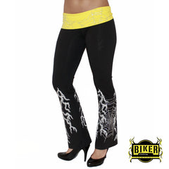 Lighting Pants - Black/Yellow
