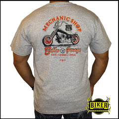 Mechanic Shop Short Sleeve T-Shirt