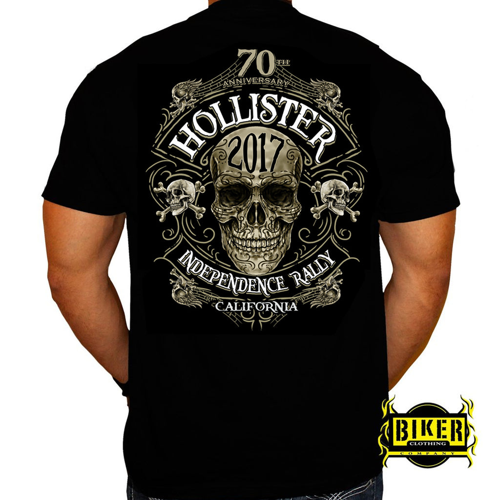 Official 2017 Hollister Grim Tomb T-shirt