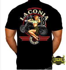2018 Laconia Pin Up Girl T-shirt