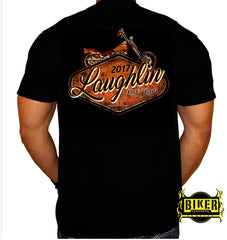 Official 2017 Laughlin River Run Vintage Sign T-shirt