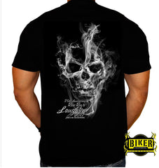 Official 2017 Laughlin River Run Smoke Skull T-shirt