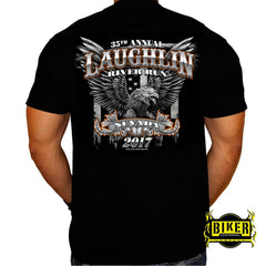 Official 2017 Laughlin River Run Big Eagle T-shirt