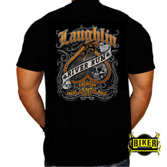 Official 2017 Laughlin River Run Spade and Skull T-shirt