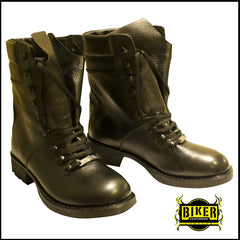 Men's Leather High Ankle Boot