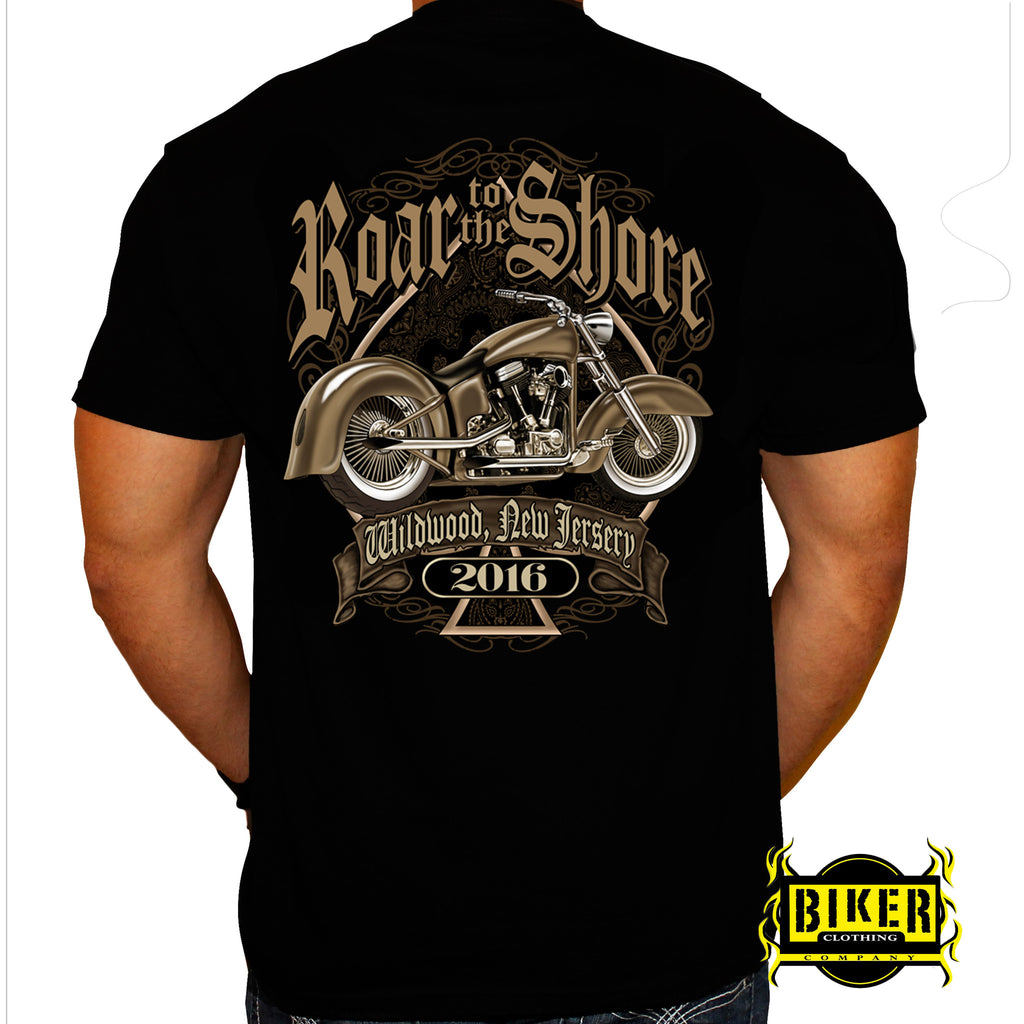 2016 Wild Wood Roar to the Shore Spade Bike T-Shirt
