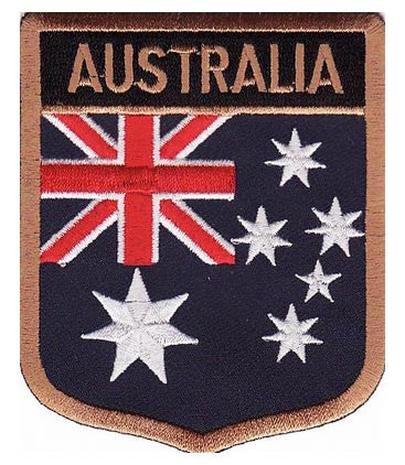 Australia Flag Shield