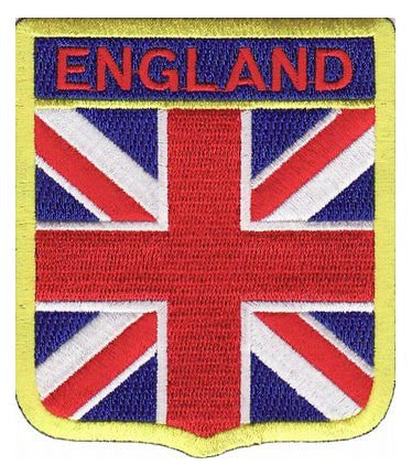 England Flag Shield