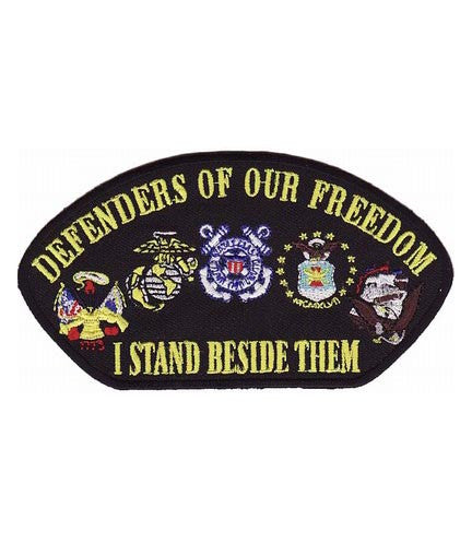hat patch defenders of our freedom