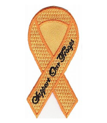 support our troops yellow ribbon