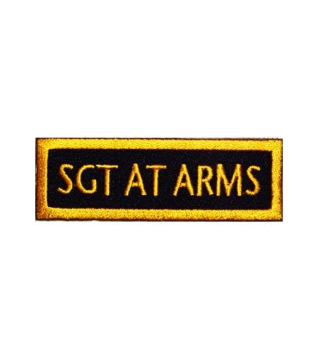 sgt at arms