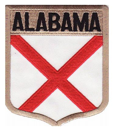 Alabama State Flag Shield