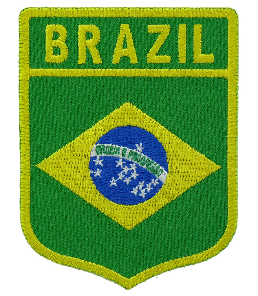 Brazil Flag Shield