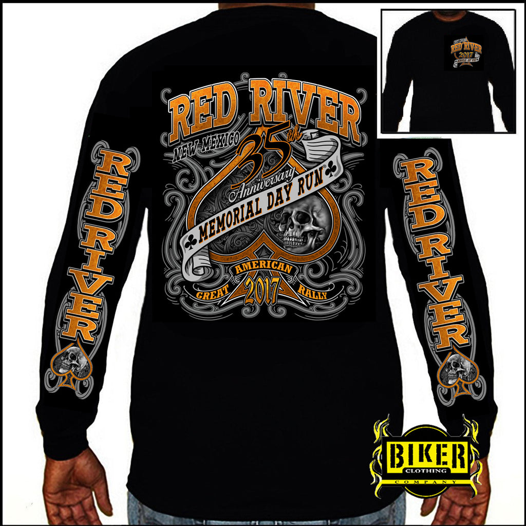 2017 Red River Ace and Skull, Long-sleeve
