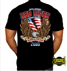 2018 Red River Patriotic Eagle T-shirt