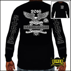 2016 Official Sturgis Classic Biker Tradition, Long Sleeve